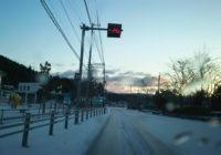 この冬1番の寒波到来
