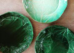 葉紋皿(ようもんざら)を作ろう